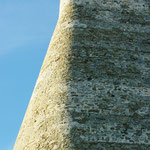 La superbe géométrie de l'angle du bastion sud ouest.