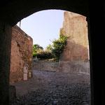 Poterne : sortie côté citadelle.