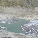 Gletschersee am Rhonegletscher
