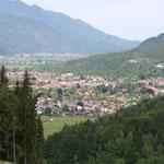 Blick auf Garmisch-Partenkirchen
