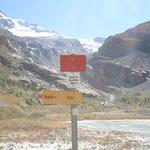 unterwegs im südlichen Val d'Hérens mit Ziel Mont-Miné-Gletscher