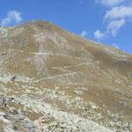unterwegs auf dem Steinbock-Höhenweg - das haben wir noch vor uns