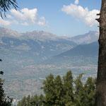 Umgebung von Sion im Wallis