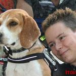 """Elloitt und Judith von den """"Activ Dogs"""""""