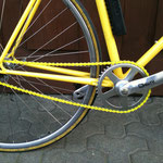 NANDROLON, Giro, Yellow Singlespeed Racer