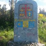 Entrée en Galice, Espagne