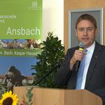 Dr. Jürgen Ludwig, Landrat, Landkreis Ansbach