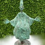 Vescovo, 2012, bronzo, h. 68 cm