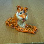 Тигр, тесто