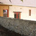 détail façade en pierre (photo odermatt architectes lalinde)