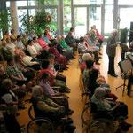 Konzert im Landespflegeheim in Christkindl