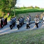 Florianimesse - Einzug zur Kirche