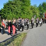 Florianimesse 2016 - Einzug zur Kirche