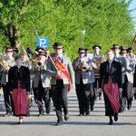 Musikverein Christkindl - Marschformation