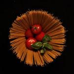 1. Platz (Oberstufe+): Spaghetti mit Tomatensoße neu interpretiert von Maria R.