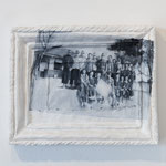 『時代;兄』木製パネル、紙粘土、石粉粘土、アクリル絵具2016年