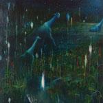 川 キャンバスに油彩 900×907mm / 2011-2014