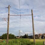 西武安比奈線 -架線柱-