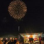 Ma様 / 青森県・ねぶた祭り最終日の海上運行、花火大会