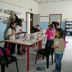 Operiamo anche con una volontaria, Cristina, nel Comune di Formignana