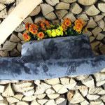 kuschelig weicher Hochfloor in Mausgrau-metalic glänzend Preis: im Set 18,00€ einzeln 17,00€ für 88 cm Länge und 6,00€ für 43 cm Länge