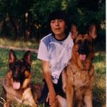 Я с Фиджи и Хоббитом. 2004 г.