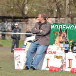 """Christoph Ludwig, судья SV, кёрмастер, вл. питомника """"von der Zenteiche"""" (Германия)"""