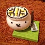 美樹さんが紙粘土で作ってくれたツル!なんだか、昭和の香りがするツル〜!