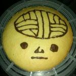 おでんのたまごさんの作品。これ、めちゃでかいクッキーなんやろ!どっから食べたんやろ?(^脳^)