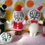 謎の動物園の園長さんが作ってくれたマスコットツル!うわ!僕がよっけのメリークリスマツル〜♪