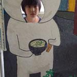 高松北中、高松北高校の文化祭であった看板ツル!これで君も、うどん脳ツル〜!