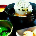 なちゃ輔@キャラ弁ハマり中♪さんの作品。お茶碗に入った僕、可愛すぎて食べられんのちゃう?(^^)ナンチテ