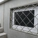 Fenstergitter Chromstahl