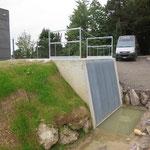 Metallarbeiten Hochwasserschutz