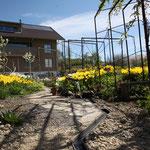 Gartengestaltung Metall Elemente