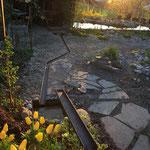 Wasserspiel Garten