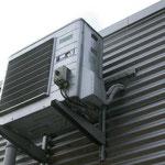 Buitenunit van airco (buitenlucht-warmtepomp)