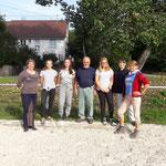 Teilnehmer des Fortgeschrittenen-Lehrgangs mit Lehrangsleiter Harald Grimm