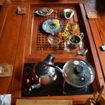 Gongfu Cha - Chinesische Teezeremonie in Pingyao