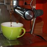 Ein leckerer Cappuccino entspannt