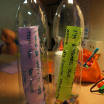 Am Äquator wird die Flaschenpost verschickt