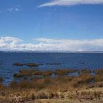 unser erster Blick auf den Titikakasee