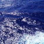 So blau ist das Meer nur mitten im Atlantik