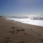 Einsame Strände Uruguays