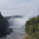 unzählige Wasserfälle