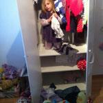 Klara hilft wo sie kann......
