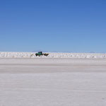 Salzgewinnung auf dem Salar
