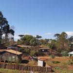 erste Siedlungen nach dem Dschungel