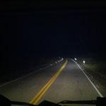 Nachtfahrt mit Hella Scheinwerfern... sieht auf diesem Bild nicht so toll aus...