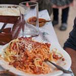 Die ungeniessbaren Spaghetti-Bolognese